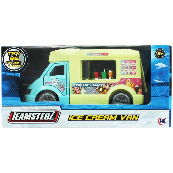 Rot.Saldējuma mašīna Teamsterz  13cm ar