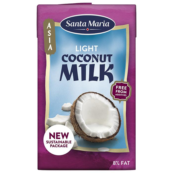 Kokosriekstu piens Santa Maria liesais 250ml