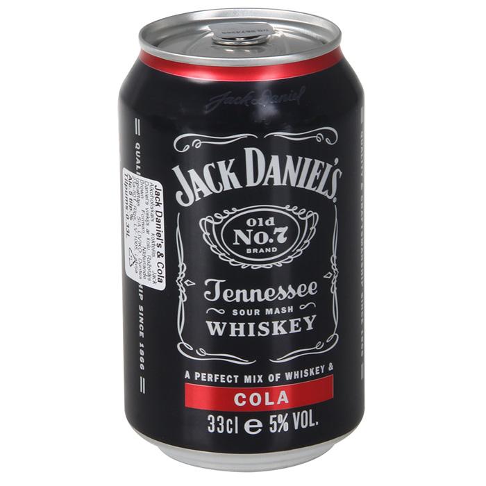 Alk.Kokteilis Jack Daniel`s & Cola