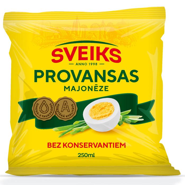 Majonēze Polven Provansas 67% 250g