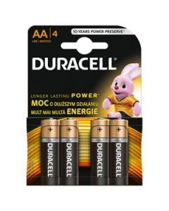 Bar.el.Duracell Plus LR6 AA 4gab.