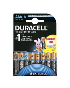 Bar.el.Duracell Turbo AAA 8gab