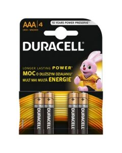 Bar.el.Duracell Base AAA 4gab.