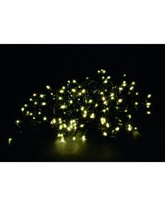 100 LED virtene 10m balta, 3xAA