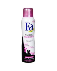 Dezodorants Fa Invisible Sensitive 150ml