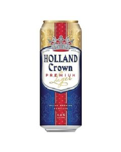 Alus Holland Crown Premium Lager 4.8% 0.5L