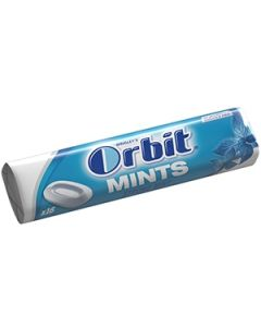 Košļ.gumija Dentālās ledenes Orbit Strong Mints 16 roll