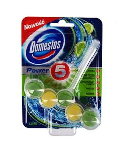 Tualetes bloks Domestos Power 5 Lime 55g