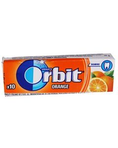 Košļ.gumija Orbit Orange 14g