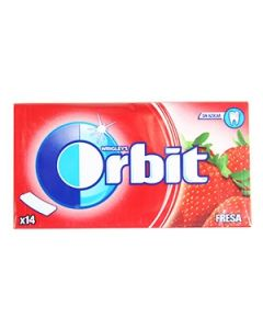 Košļ.gumija Orbit Strawberry 27g