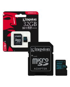 Atmiņas karte Kingston Micro SDHC 32GB+Adapt.