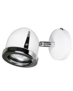 Sp.l.-CINDA 2.5W LED GU10 balta/hroma