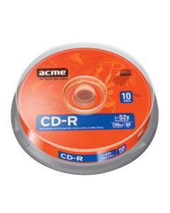 Matricas CD-R Acme 700MB 52x Cake 10gab.