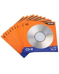 Matrica CD-R Acme 700MB 52x pap.aploksnē