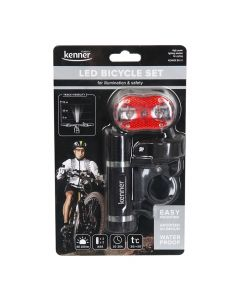 Lukturis Kener BS-13 bicycle set metal