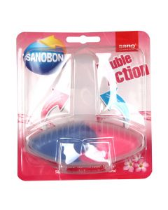 WC bloks Sanobon Double Action Pink Flower 55g
