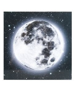 Glezna ar LED 30x30cm Earth-Moon