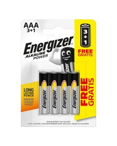 Bar.el. Energizer AAA Base 3+1gab