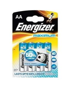 Bar.el. Energizer AA Maximum 4gab