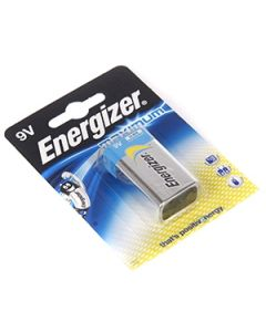 Bar.el. Energizer 9V Maximum 1gab