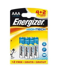 Bar.el. Energizer AAA Hightech 4+2gab