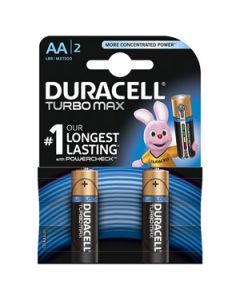 Bar.el.Duracell Turbo AA 2gab.