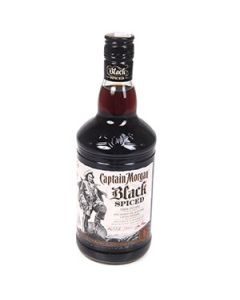 Rums Captain Morgan Black Spiced 40% 0.7l