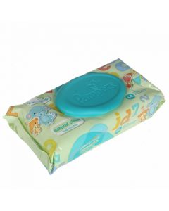 Hig.salvetes Pampers Natural Clean Single 64gab.