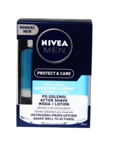 Balzams pēc skūš.Nivea for Men 2in1 100ml