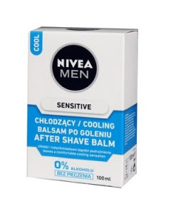 Balzams pēc skūš.Nivea 2in1 Sensitive Cooling 100ml