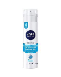Skūšanās želeja Nivea Sensitive Cooling 200ml