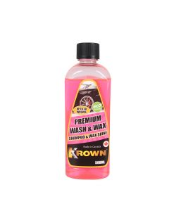 Auto šampūns Krown Premium Wash&Wax 500ml