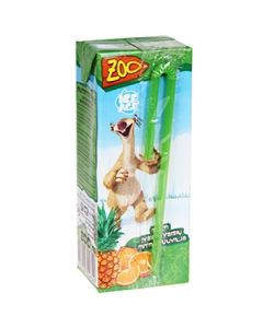 Sula Zoo Ice multiaugļu 0.2L