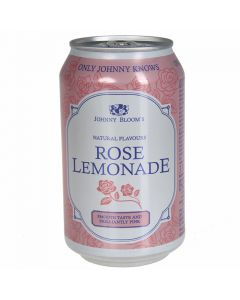 Dzēriens-limonāde Johnny Blooms Rose Can 0.33l