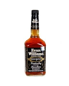 Viskijs Evan Williams Black 43% 1l